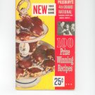 Vintage Pillsbury's 4th Grand National Cookbook 1953