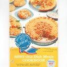 Pillsbury's Best One Dish Meals Cookbook Vintage