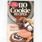 Betty Crocker 110 Cookie Recipes Cookbook Number 24 1987