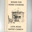 Regional Bound For Home Cooking Cookbook Baptist Church New York