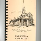 Regional Our Family Favorites Cookbook Presbyterian Church North Carolina