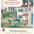 Vintage Sherwin Williams Home Decorator Catalog With Coupons 1960