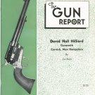 The Gun Report August 1978 David Hall Hilliard By Joe Race
