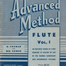 Vintage Advanced Method Flute Vol. 1 Rubank Inc. Library Number 95