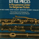 Forty Little Pieces For Beginner Flutist Louis Moyse G Schirmer 2262 Flute