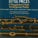 Forty Little Pieces For Beginner Flutist Louis Moyse G Schirmer 2262 Flute