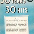 Vintage 30 Years 30 Hits No. 2 Words & Music Miller Music Corporation 1953