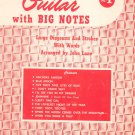 Easy Arrangements For The Guitar With Big Notes No. 1 By John Lane Robbins Music 1953