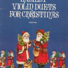 Easiest Violin Duets For Christmas Book Two Music Book By Betty N. Barlow 1979
