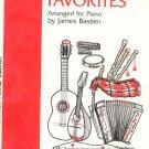 Bastien Piano Library Folk Tune Favorites Music Book WP46 0849750695