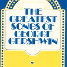 Vintage The Greatest Songs Of George Gershwin Summertime 1979