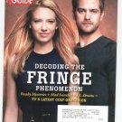 TV Guide Back Issue October 20-26 2008 Fringe Phenomen Mentalist Housewives