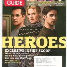 TV Guide Back Issue October 23-29 2006 Heroes Dancing With The Stars NCIS