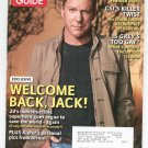 TV Guide Back Issue November 17-23 2008 Clooney ER CSI Grey's