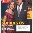 TV Guide Back Issue April 2-8 2007 The Sopranos Final Episodes