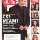 TV Guide Back Issue April 9-15 2007 CSI Miami Brooke Shields Kirstie Alley