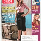 TV Guide Back Issue December 3-9 2007 Desperate Housewives The Closer Without A Trace