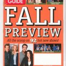 TV Guide Back Issue September 11-17 2006 Fall Preview The Nine Studio 60