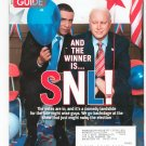 TV Guide Back Issue November 3-9 2008 SNL CSI Exclusive Dancing Drama