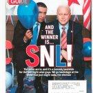 TV Guide Back Issue November 3-9 2008 SNL CSI Exclusive Dancing Drama