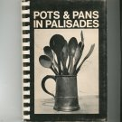 Vintage Pots & Pans In Palisades Cookbook Regional New York 1969