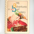 146 Adventures In Beef Cookery Cookbook by Proten Swift Vintage
