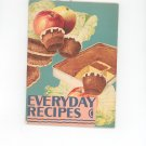 Vintage Everyday Recipes Cookbook By Wesson Oil 1930 Wesson Electric Beater