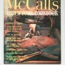 Vintage McCall's Fish N Fowl Cookbook M13 Chicken Shellfish Duckling Plus