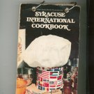 Vintage Syracuse International Cookbook Regional Merchants Bank Advertising New York