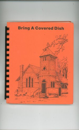 Regional Bring A Covered Dish Cookbook St. Ann&#039;s Episcopal Church New York Vintage