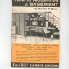 How To Modernize A Basement Easi Bild 615 By Donald Brann Vintage 1966