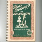 What's Cooking In Massachusetts Cookbook 4-H Foundation Regional Vintage Bay State Recipes