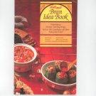 Kellogg's Bran Idea Book Cookbook Recipes Menus  1982