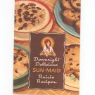 Downright Delicious Sun Maid Raisin Recipes Cookbook / Pamphlet Vintage H. J. Heinz
