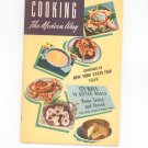 Cooking The Modern Way Cookbook Souvenir 1949 New York State Fair Planters Edible Oil