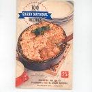 Pillsbury's 8th Grand National 100 Prize Winning Recipes Cookbook Vintage 1957