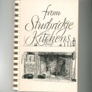From Sturbridge Kitchens Cookbook Regional Mass Federated Church Vintage