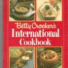 Betty Crocker's International Cookbook Hard Cover 0394504534