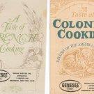 Advertising A Taste Of International Cooking Box Set Cookbook / Pamphlets Genesee Beer