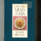 One Dish Meals Of Asia Cookbook By Jennifer Brennan First Edition 081291144x