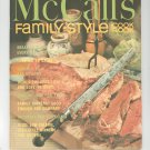 Vintage McCall's Family Style Cookbook M8 1972 Edition McCalls Mc Calls