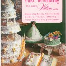 Cake Decorating The Easy Wilton Way Borders Flowers Lettering Plus 1973