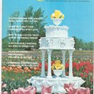 Wilton Celebrate January February 1973 Magazine For Cake & Food Decorators Vintage