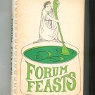 Forum Feasts Cookbook Regional Forum School New Jersey Vintage 1969