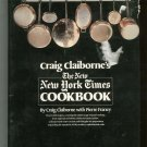 The New York Times Cookbook By Craig Claiborne 081290835x