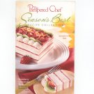 The Pampered Chef Season's Best Recipe Collection Spring Summer 2002