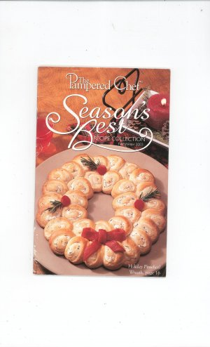 The Pampered Chef Season's Best Recipe Collection Fall Winter 2003