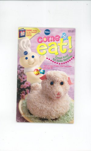 Pillsbury Come & Eat Cookbook Spring 2000 Volume 2 Number 2