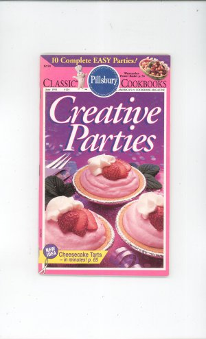 Pillsbury Creative Parties Cookbook Classic #124 1991