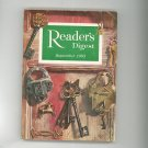Reader's Digest September 1963 Vintage Back Issue